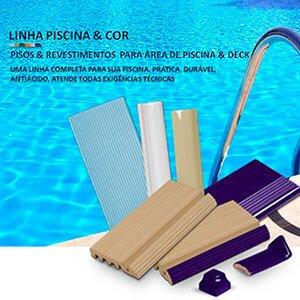 Piso deck piscina em São Paulo