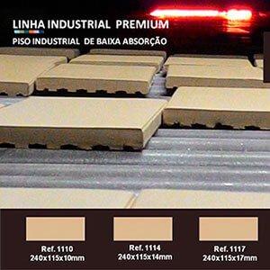 Indústria de piso baixa absorção